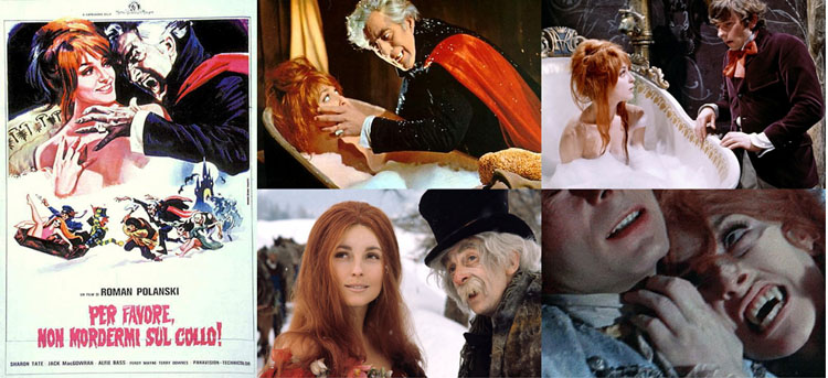 Per favore non mordermi sul collo! (The Fearless Vampire Killers, 1967) di Roman Polanski