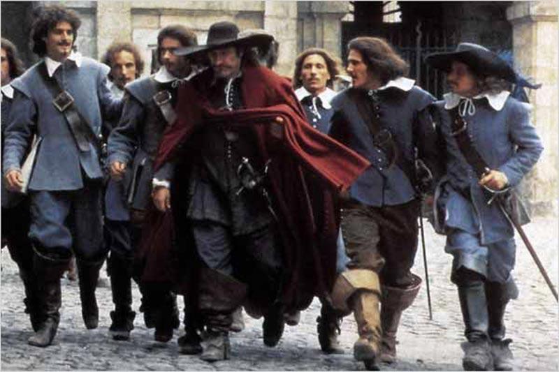 Cyrano de Bergerac, di Jean-Paul Rappeneau (Francia, 1990), con Gerard Depardieu